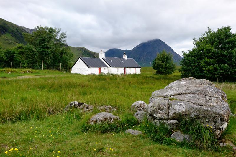 black rock cottage glencoe szkocja