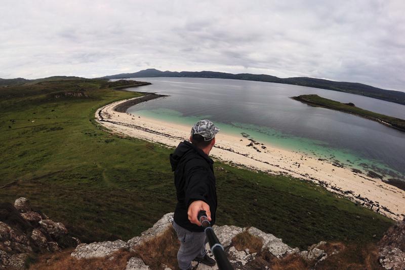 coral beach isle of skye szkocja