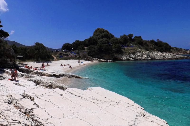 kassiopi plaża corfu