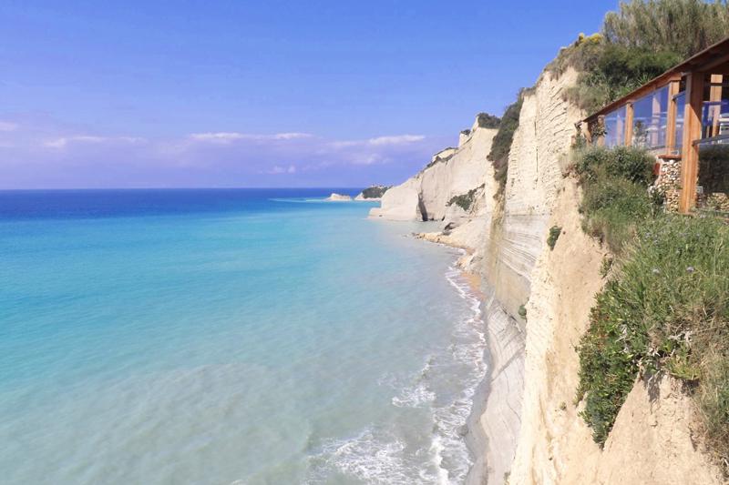 logas beach 7th heaven corfu