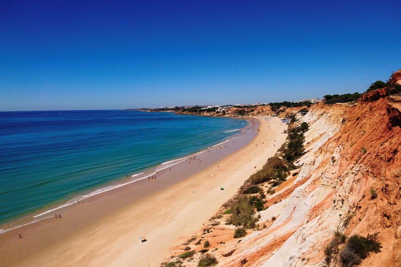 praia da falesia algarve