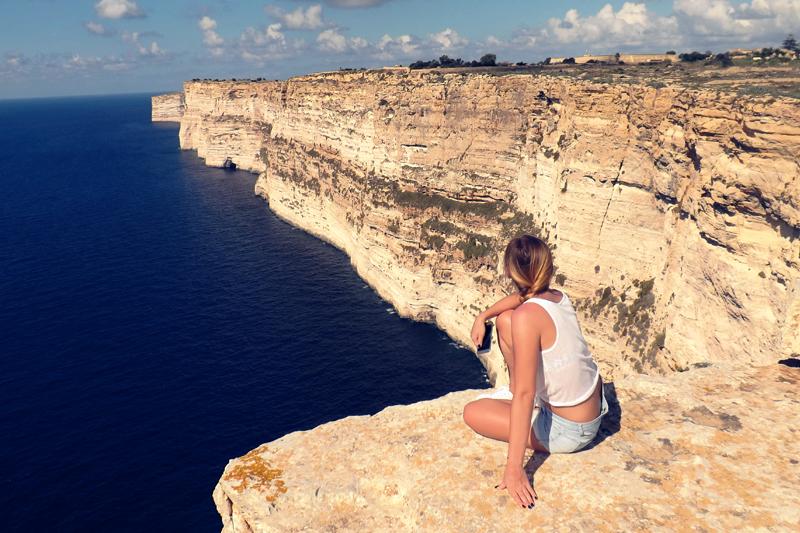 ta cenc cliffs gozo malta