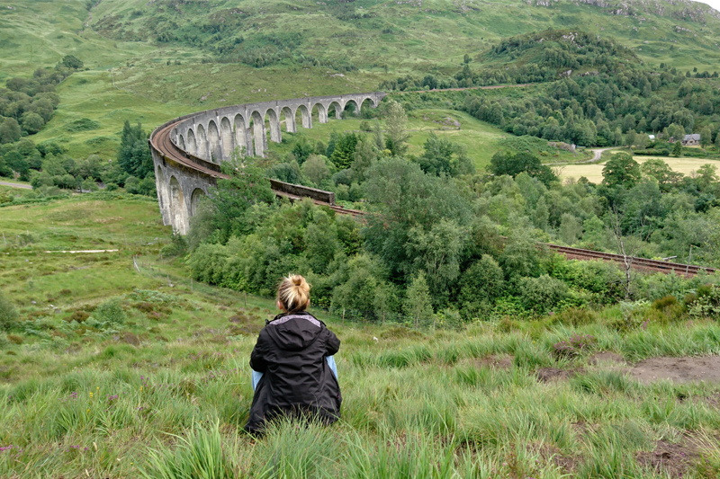 Wiadukt Harrego Pottera - Glenfinnan Viaduct
