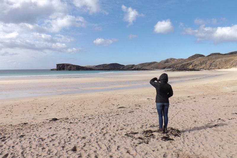 oldshoremore beach północna szkocja co zobaczyć