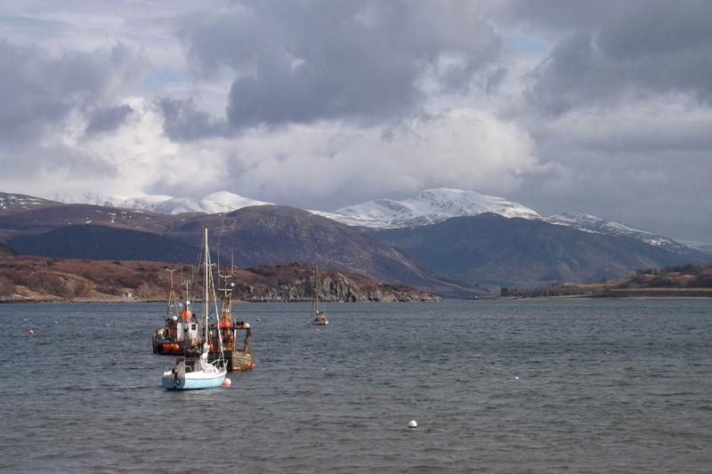 ulapool north coast 500 północna szkocja atrakcje co zobaczyć