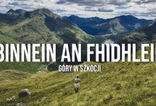 Binnein an Fhidhleir – góry w Szkocji latem