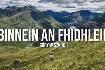 Binnein an Fhidhleir góry w szkocji