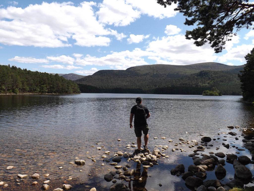 park narodowy cairngorms w szkocji