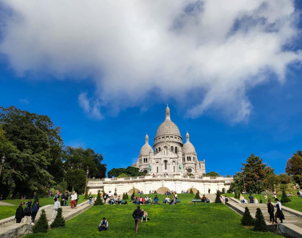 bazylika sacre-coeur paryż atrakcje