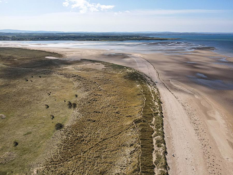 Aberlady Bay Beach plaże w Szkocji okolice Edynburga