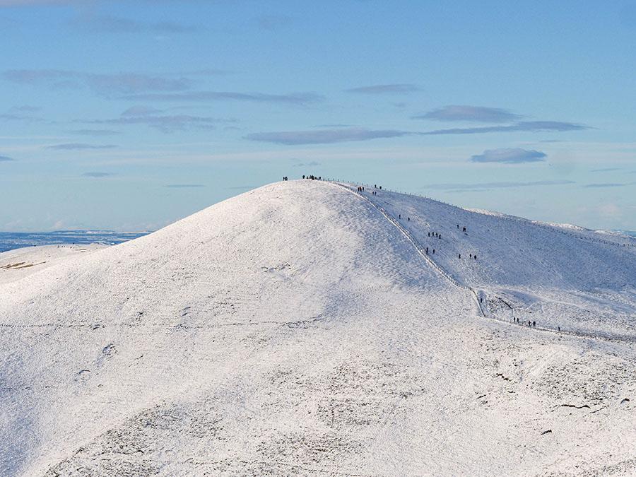 allermuir hill pentlandy góry edynburg