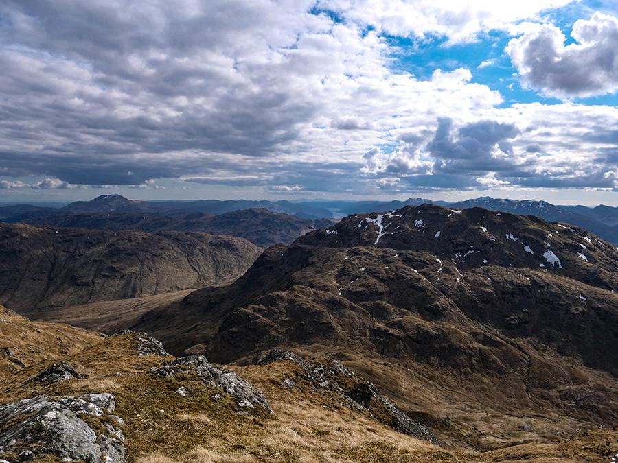 an casteal góry w szkocji