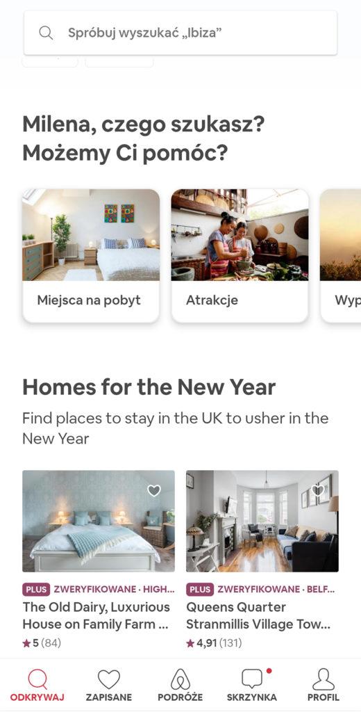Aplikacje niezbędne w podróży noclegi airbnb