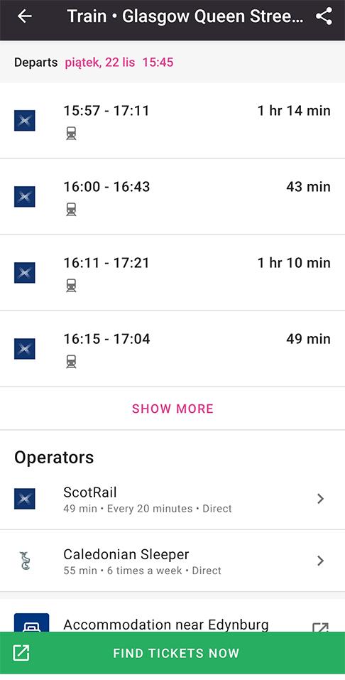 Aplikacje niezbędne w podróży transport planowanie podróży