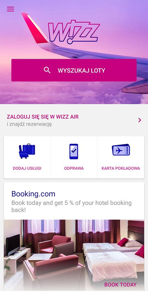 Aplikacje niezbędne w podróży transport biety lotnicze wizzair