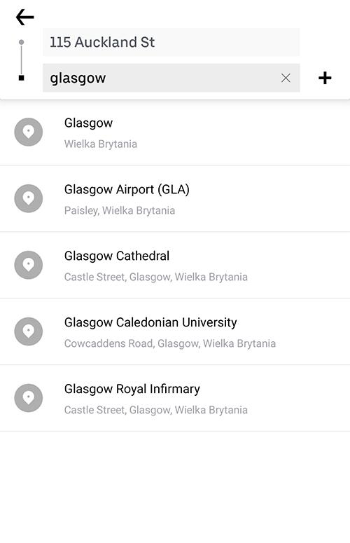 Aplikacje niezbędne w podróży transport planowanie podróży taxi uber