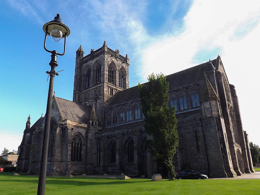 glasgow okolice atrakcje paisley abbey