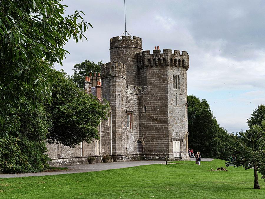 Balloch Castle - zamki w Szkocji