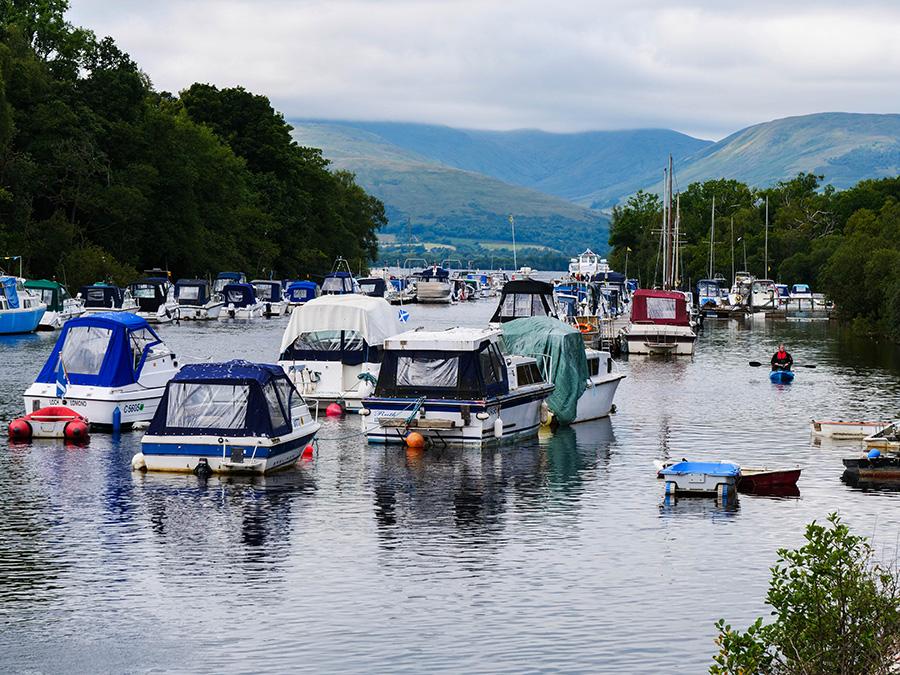 Balloch Rejs statkiem po Loch Lomond