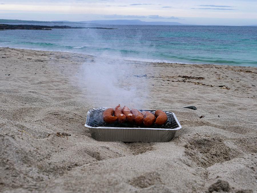 plaże na północy szkocji bay of sanick
