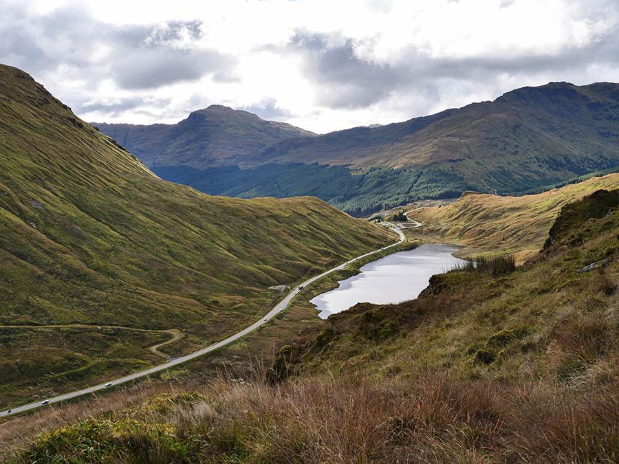 szkockie góry najlepsze widoki