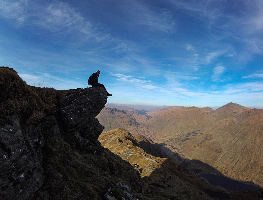 beinn an lochain góry w szkocji