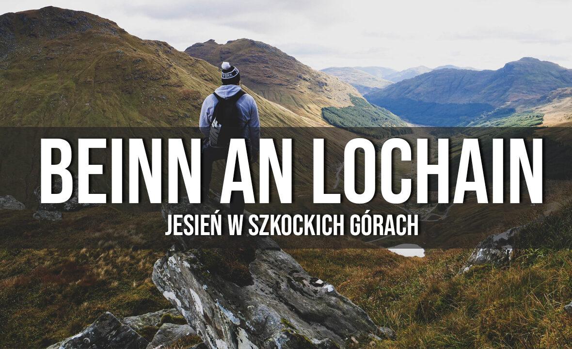 beinn an lochain jesień w szkockich górach