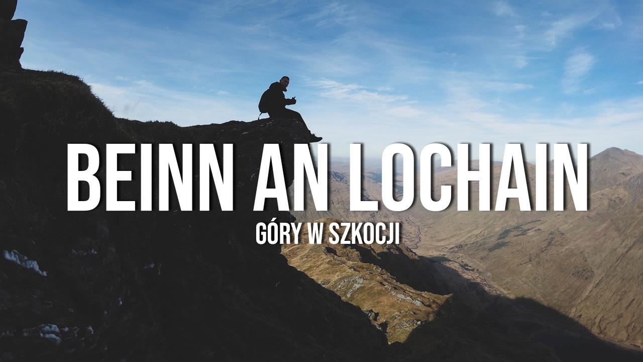 Beinn an Lochain - nasz pierwszy szkocki szczyt