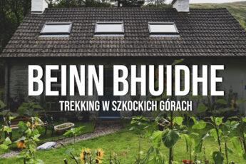 beinn bhuidhe trekking góry i szczyty w szkocji