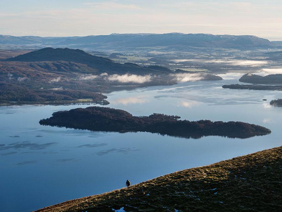 co warto zobaczyć w Szkocji Loch Lomond
