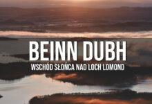 Beinn Dubh – wschód słońca w górach nad Loch Lomond