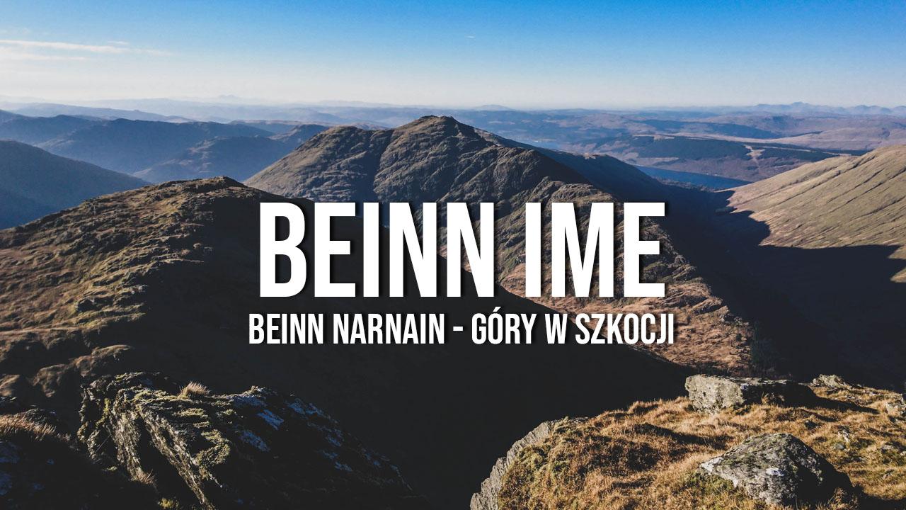 Beinn Ime i Beinn Narnain  - Alpy Arrochar