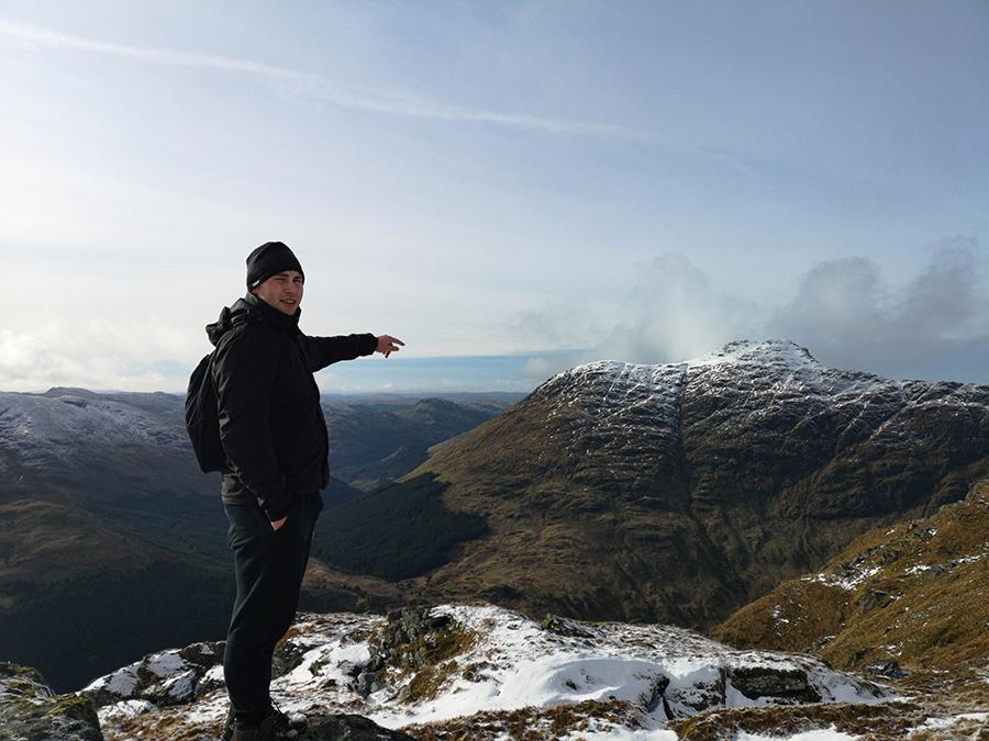 beinn luibhean loch lomond arrochar góry w szkocji atrakcje