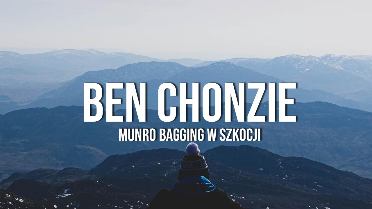 ben chonzie góry w szkocji munro bagging