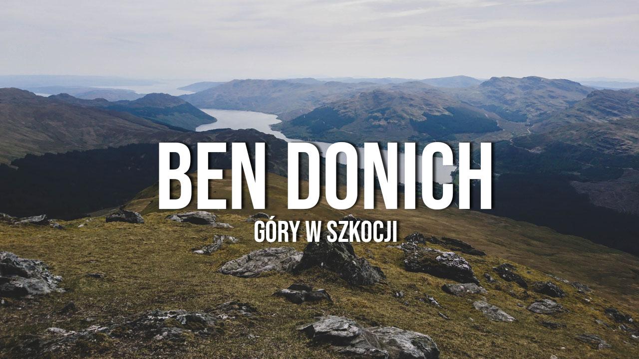 Ben Donich - Alpy Arrochar po raz kolejny