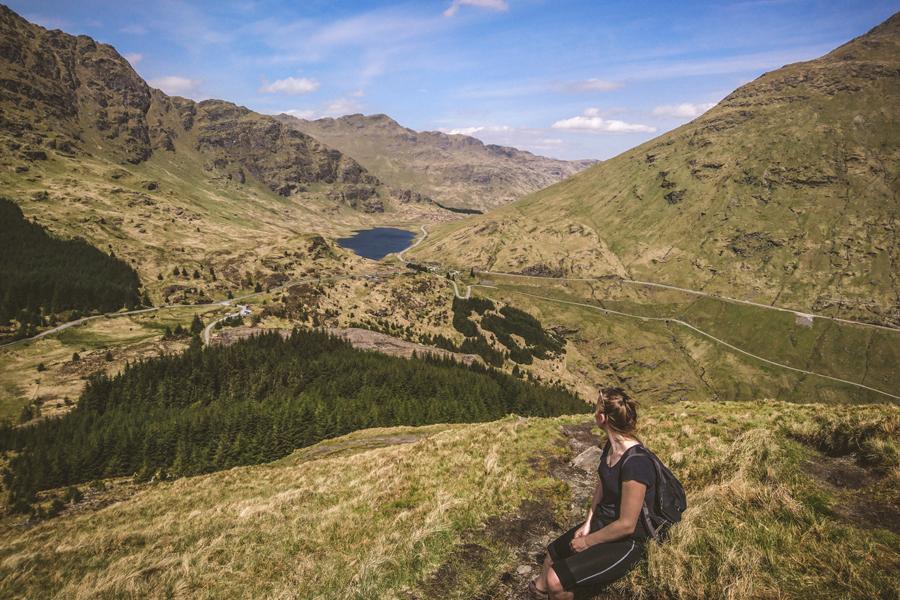 ben donich loch lomond arrochar góry w szkocji atrakcje