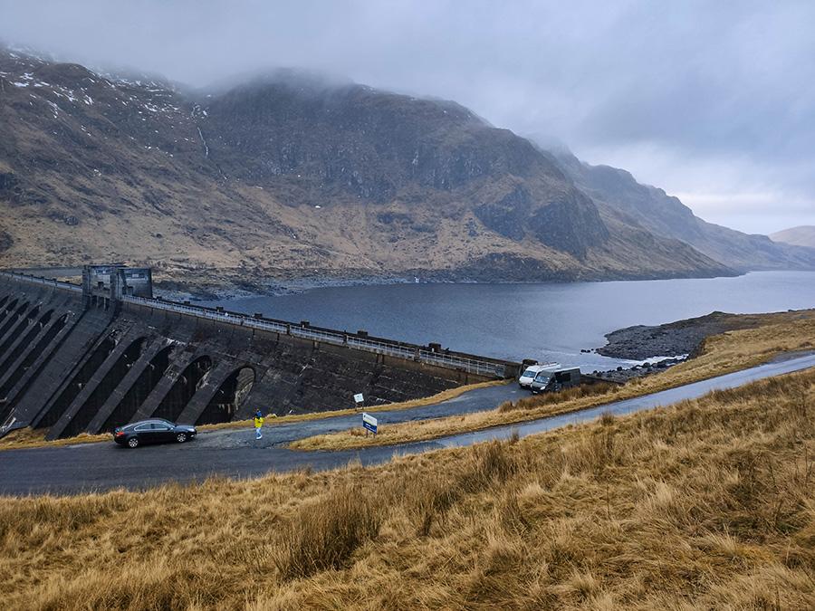 zapora wodna w szkocji