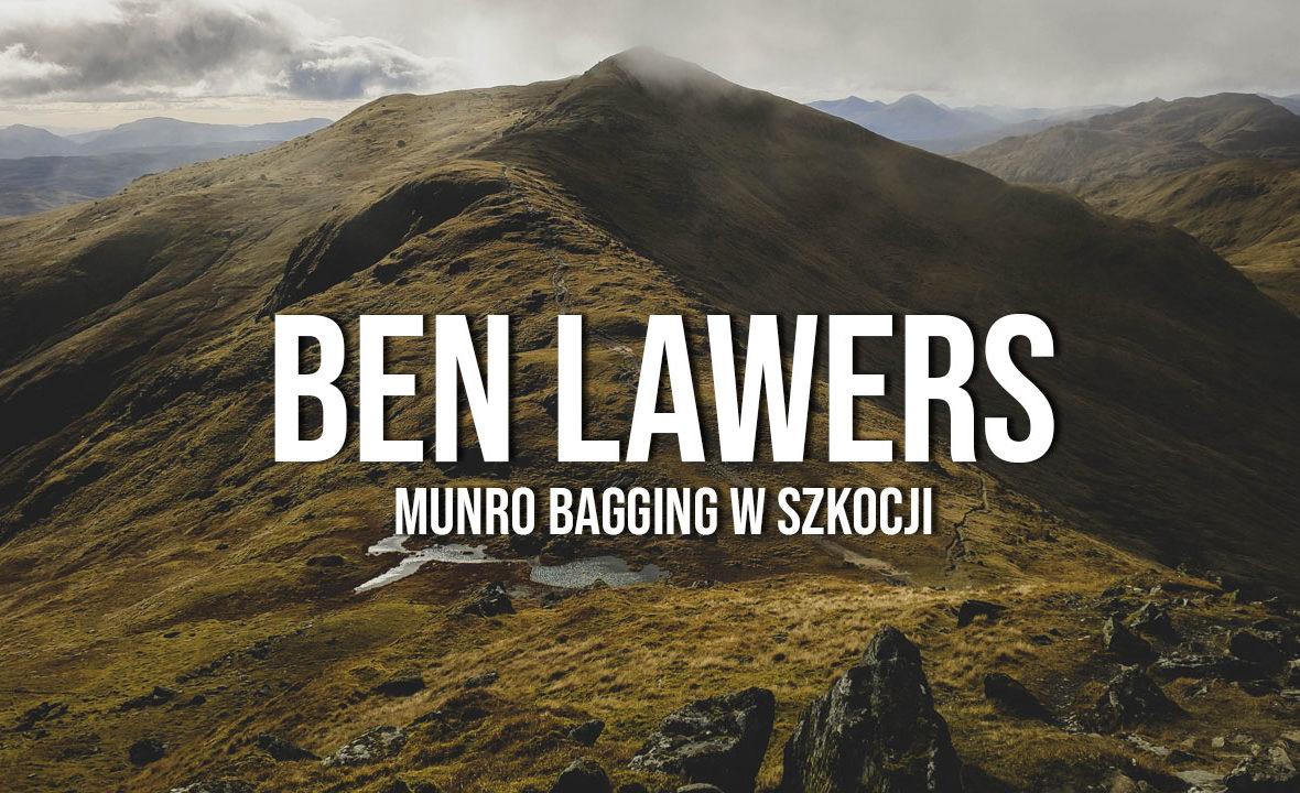 ben lawers beinn ghlas munro bagging szkocja