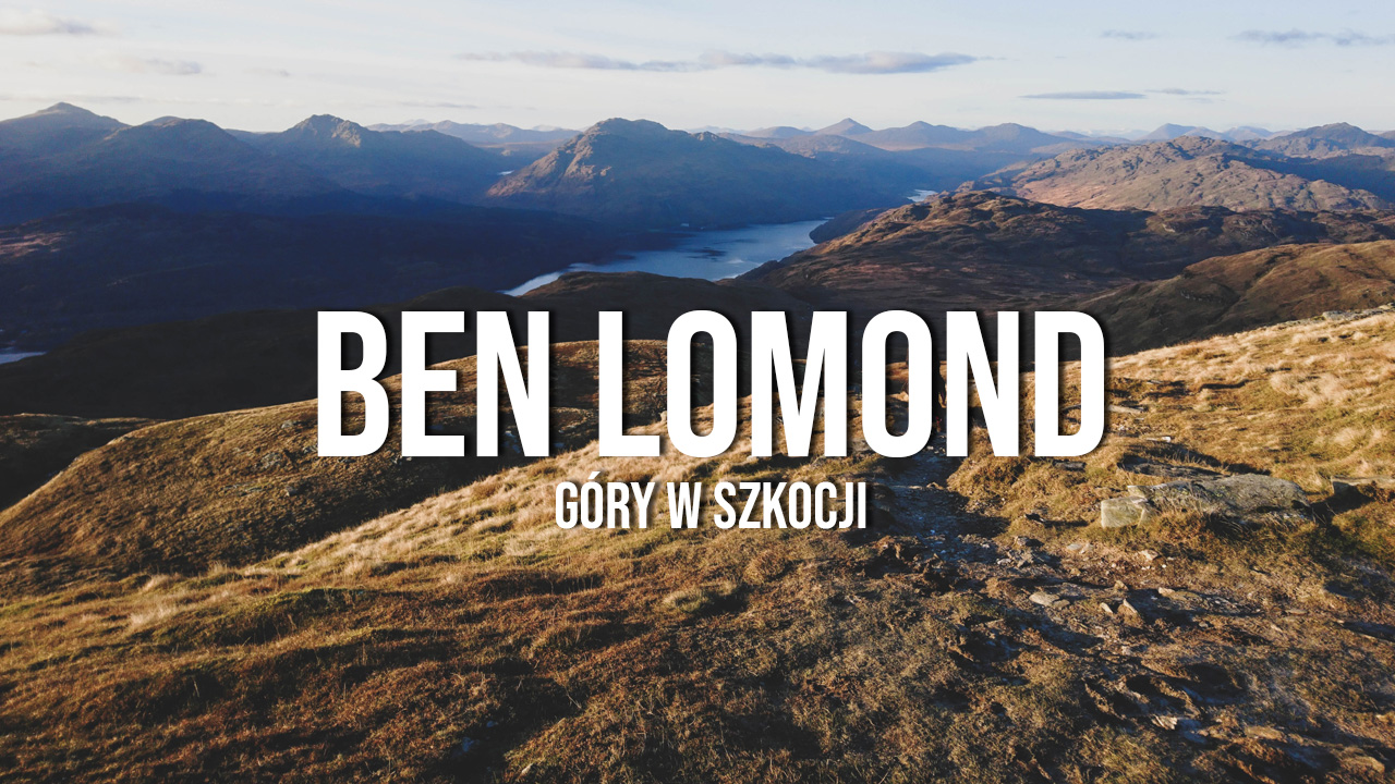 ben lomond szkocja trasa