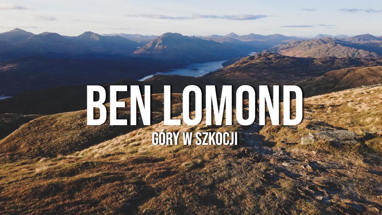 Ben Lomond & Loch Lomond - zachód słońca