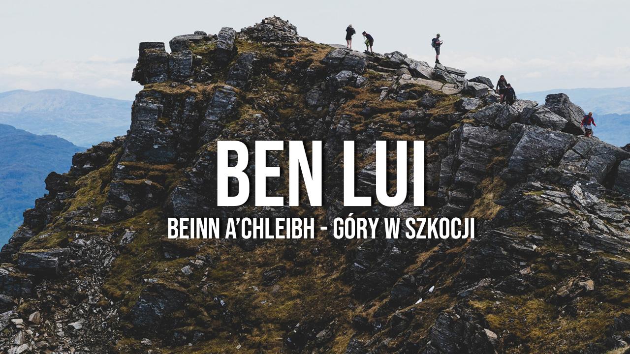 Ben Lui i Beinn a'Chleibh - góry w Szkocji, Tyndrum