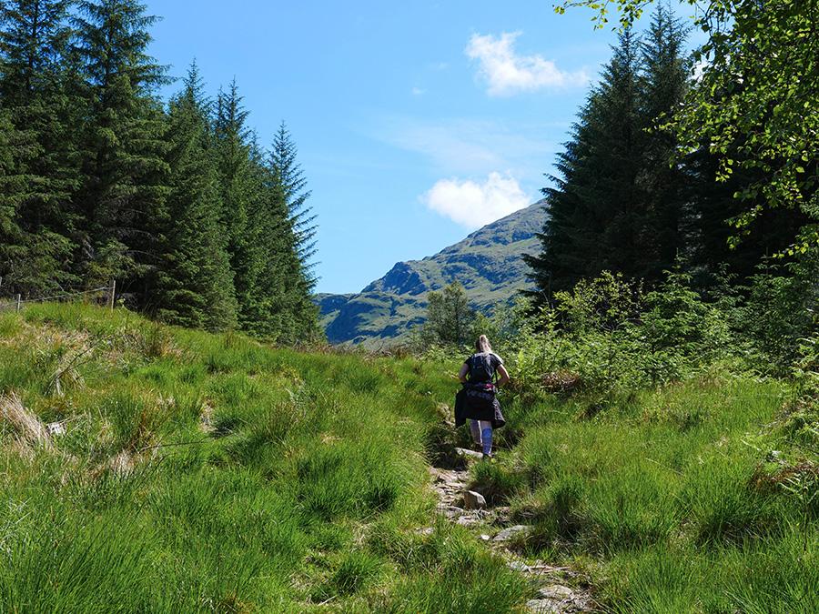 ben lui loch lomond góry w szkocji