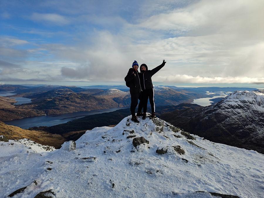 ben vane munro bagging w szkocji atrakcje góry
