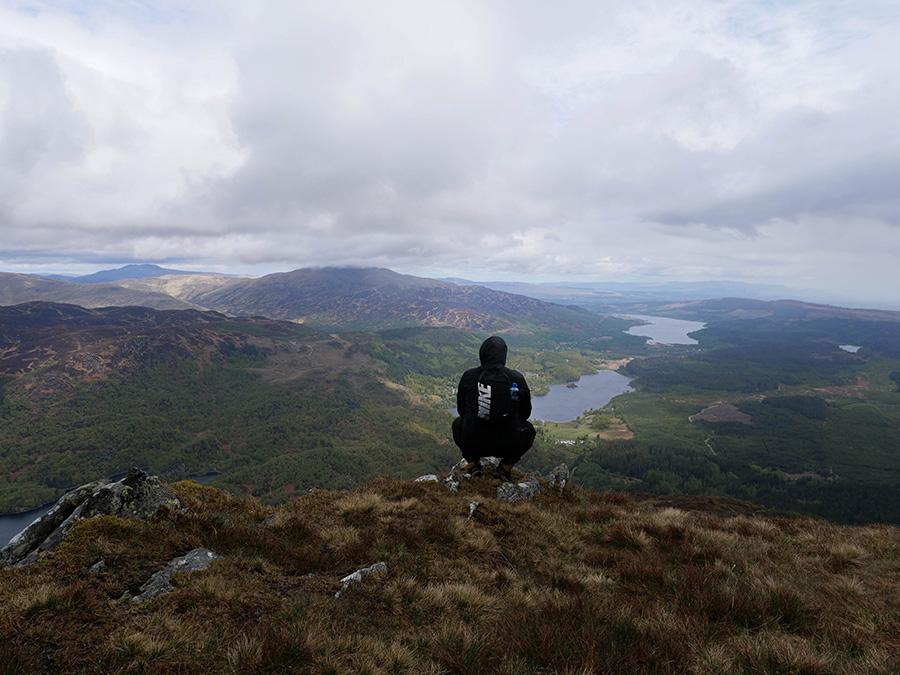 kiedy jechać do Szkocji deszcz
