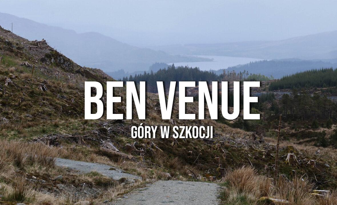 ben venue trekking w szkocji