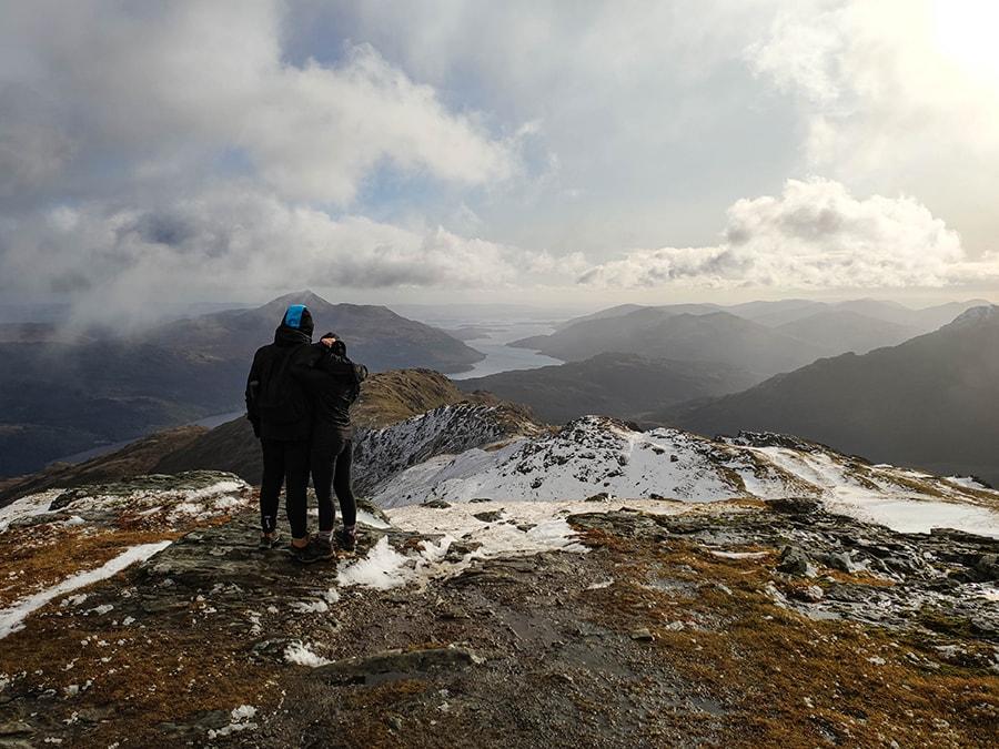 ben vorlich munro bagging w szkocji atrakcje góry