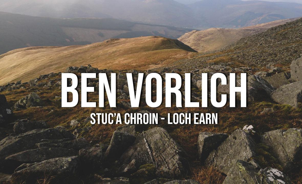 ben vorlich loch earn i stuc'a chroin szkocja munro bagging