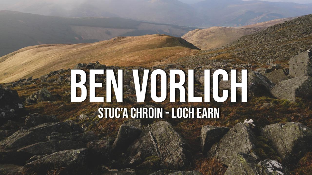 Ben Vorlich (Loch Earn) i Stuc'a Chroin