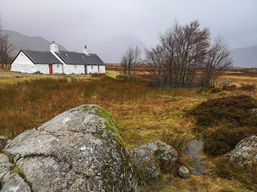 black rock cottage szkocja