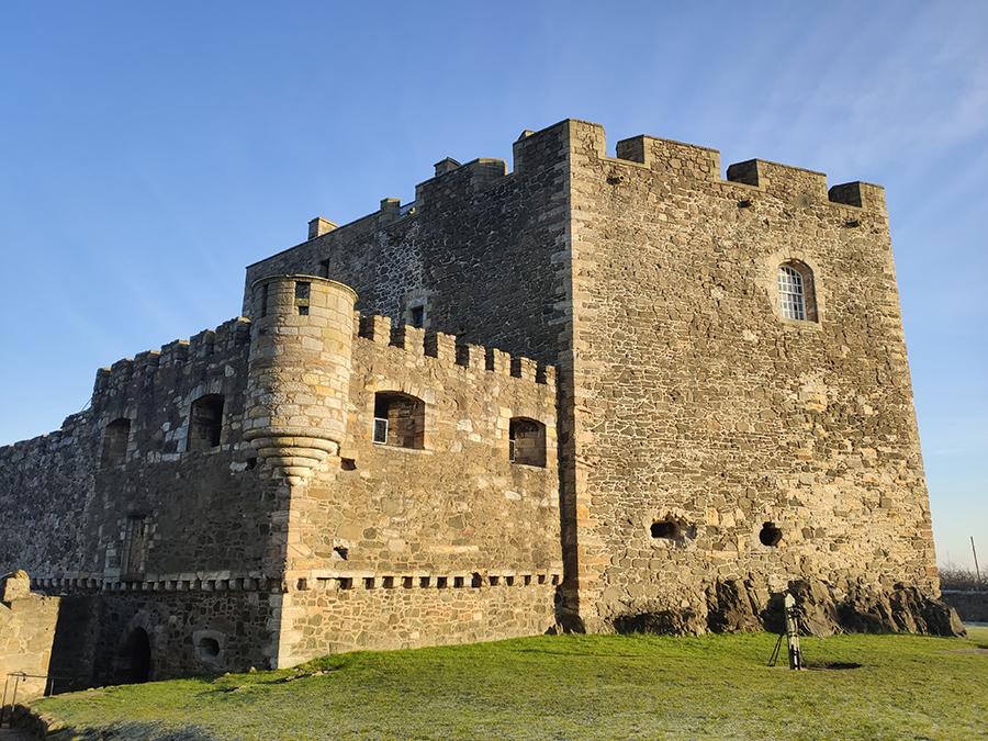 blackness castle zamki w szkocji